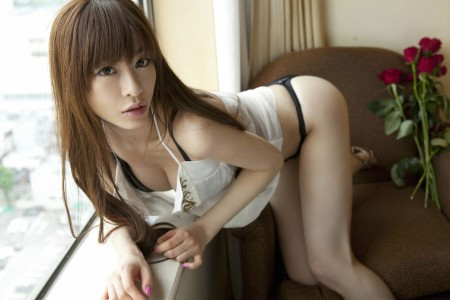 Japanese in panties-129