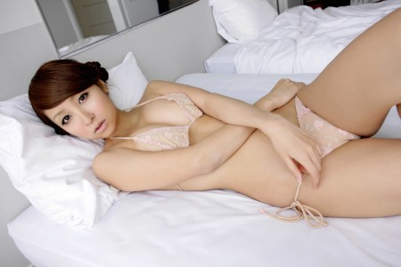 Japanese in panties-293