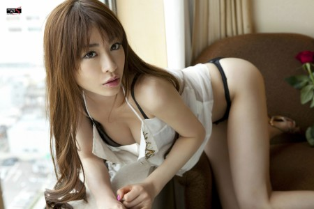 Japanese in panties-001