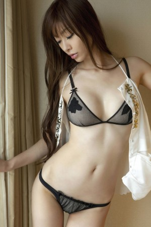Japanese in panties-183
