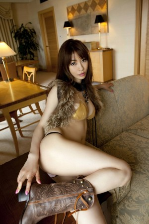 Japanese in panties-284