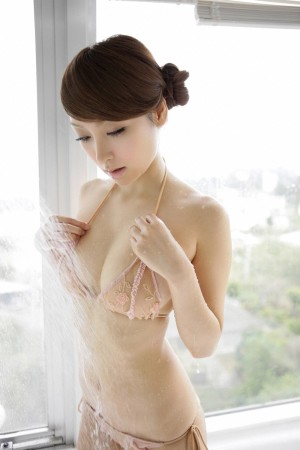 Japanese in panties-321