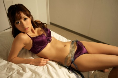 Japanese in panties-500